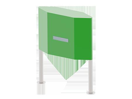 Industriële mailbox-450