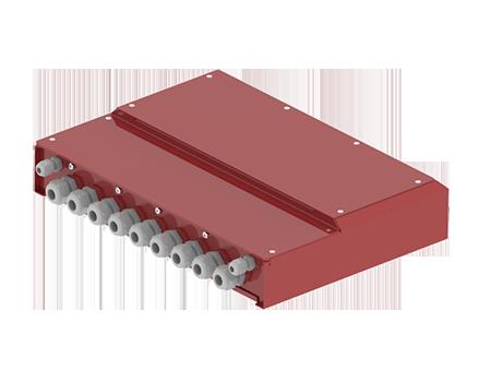Plaatwerk behuizing schakelunit-450